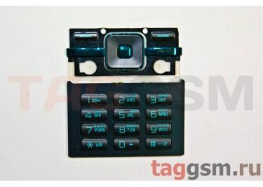 клавиатура Sony-Ericsson T715 черный AAA