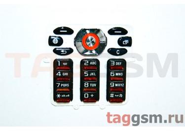 клавиатура Sony-Ericsson W880 черный AAA