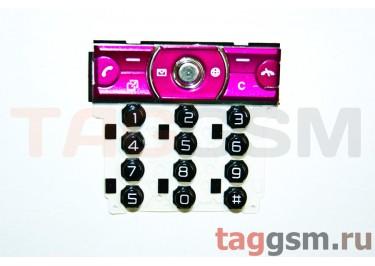 клавиатура Sony-Ericsson K660 черный / красный AAA