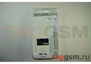 Дополнительный аккумулятор-чехол для iPhone 4 / 4s 2200mAh белая