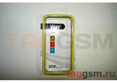 Бампер Vser для iPhone 4 / 4S (жёлтый)
