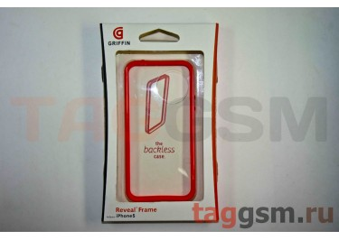 Бампер Griffin для iPhone 5 (красный)