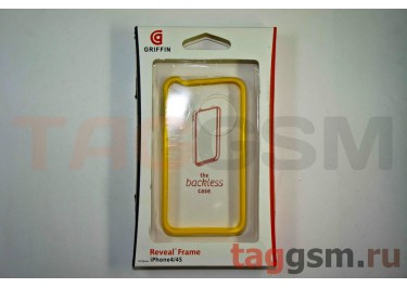 Бампер Griffin для iPhone 4 / 4S (жёлтый)