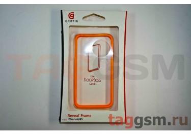 Бампер Griffin для iPhone 4 / 4S (оранжевый)