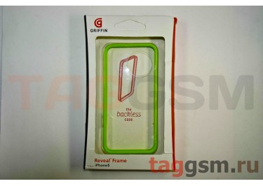 Бампер Griffin для iPhone 5 (зелёный)