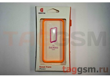 Бампер Griffin для iPhone 5 (оранжевый)