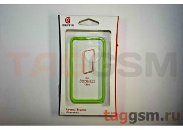 Бампер Griffin для iPhone 4 / 4S (зелёный)
