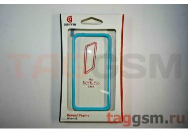Бампер Griffin для iPhone 5 (голубой)