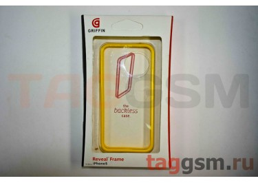 Бампер Griffin для iPhone 5 (жёлтый)