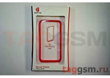 Бампер Griffin для iPhone 4 / 4S (красный)