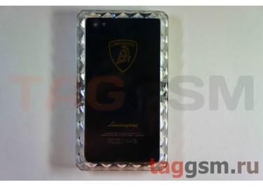 Задняя крышка IPhone LAMBORGHINI 4G / 4S с отверткой черная