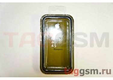 Бампер для iPhone 4 / 4S (чёрный)