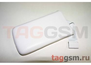 Чехол Эконом для Nokia 610 с внутренним языком (слон белый)