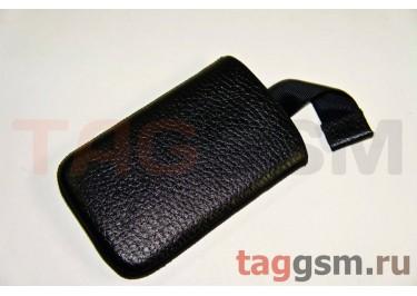 Сумка для HTC Wildfire S с внутренним языком чёрная