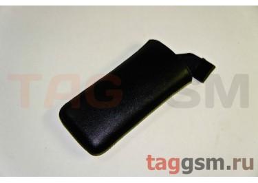 Сумка для Nokia 6300 с внутренним языком чёрная*