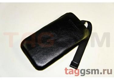 Сумка Эконом для Samsung GT-i9300 с внутренним языком (крокодил голубой в коробке)