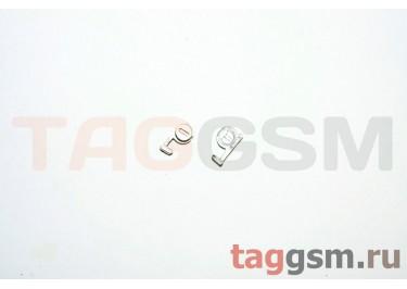 Кнопка (толкатель) Nok N81 silver