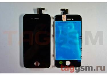 Дисплей для iPhone 4 + тачскрин черный, оригинал