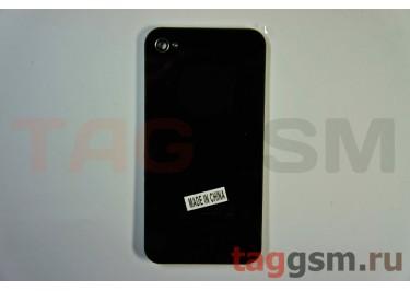Задняя крышка для iPhone 4S (черный), AA