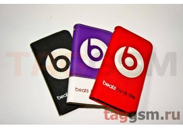 Футляр-книга iPhone 4 Beats (Monster case) в ассортименте