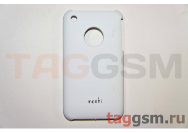 Задняя накладка Moshi iPhone 3G пластик белый