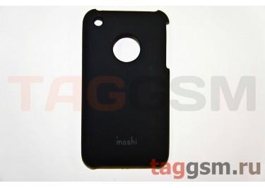 Задняя накладка Moshi iPhone 3G пластик черный