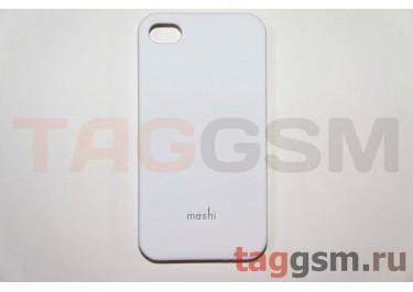 Задняя накладка Moshi iPhone 4 / 4S пластик белый