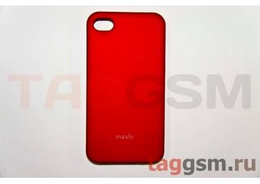 Задняя накладка Moshi iPhone 4 / 4S пластик красный