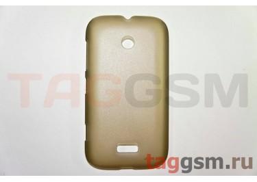 Задняя накладка ультра тонкая Nokia 510 пластик матовая черная