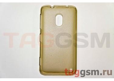 Задняя накладка ультра тонкая Nokia 620 пластик матовая черная