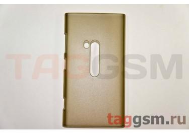 Задняя накладка ультра тонкая Nokia 920 пластик матовая черная