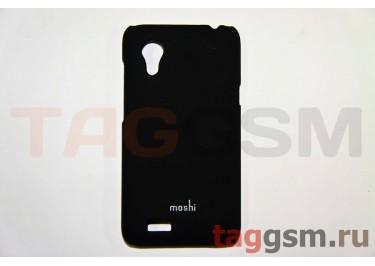 Задняя накладка Moshi HTC Desire T328T пластик черный