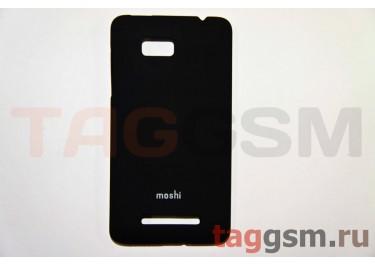 Задняя накладка Moshi HTC ONE SU (T528W) пластик черный