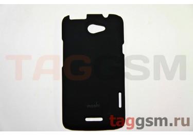Задняя накладка Moshi HTC ONE X пластик черный