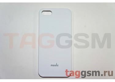 Задняя накладка Moshi iPhone 5 пластик белый