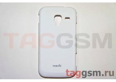 Задняя накладка Moshi Samsung i8160 пластик белый