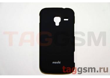 Задняя накладка Moshi Samsung i8160 пластик черный