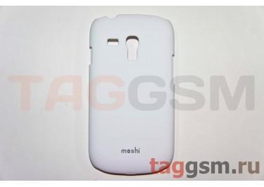 Задняя накладка Moshi Samsung i8190 пластик белый