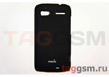 Задняя накладка Moshi Samsung i9070 пластик черный