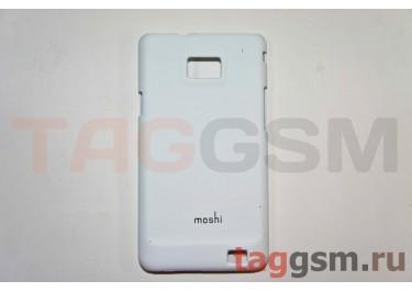 Задняя накладка Moshi Samsung i9100 пластик белый