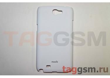 Задняя накладка Moshi Samsung i9220 пластик белый
