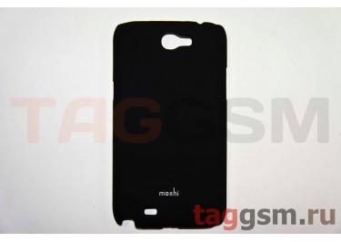 Задняя накладка Moshi Samsung i9220 пластик черный