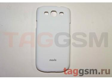 Задняя накладка Moshi Samsung i9300 пластик белый