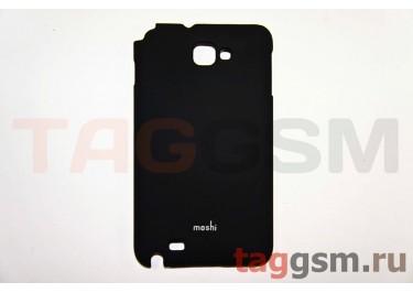 Задняя накладка Moshi Samsung N7100 пластик черный