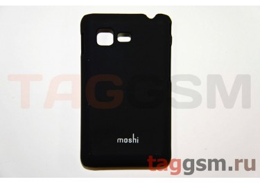 Задняя накладка Moshi Samsung S5222 пластик черный
