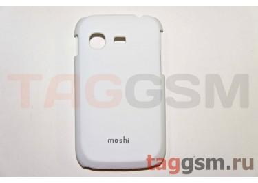 Задняя накладка Moshi Samsung S5300 пластик белый