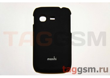 Задняя накладка Moshi Samsung S5300 пластик черный
