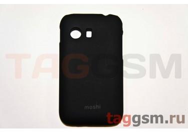 Задняя накладка Moshi Samsung S5360 пластик черный