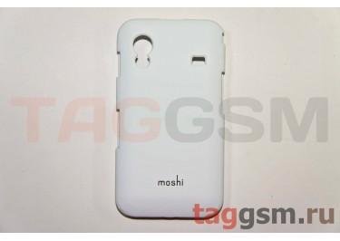 Задняя накладка Moshi Samsung S5830 пластик белый