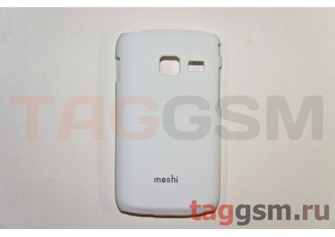 Задняя накладка Moshi Samsung S6102 пластик белый